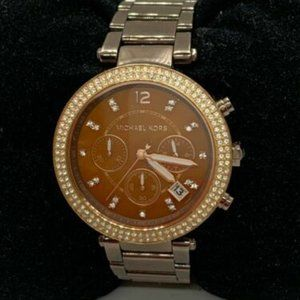Michael Kors Women's Brown Dial Quartz Watch D342